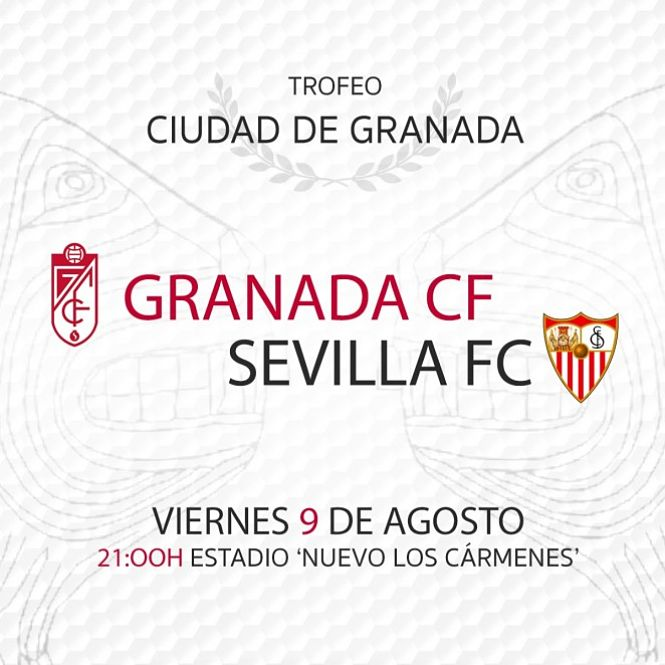 El Sevilla será el rival del Granada en su presentación