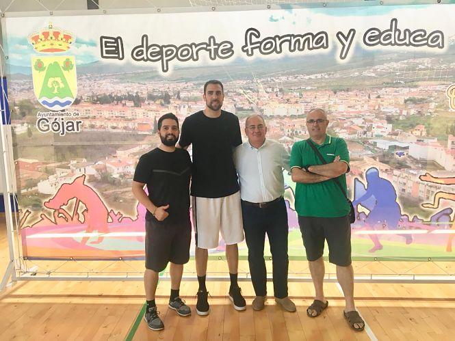 Pablo Aguilar elige el pabellón de Gójar para entrenar tras ser convocado con la selección española de baloncesto