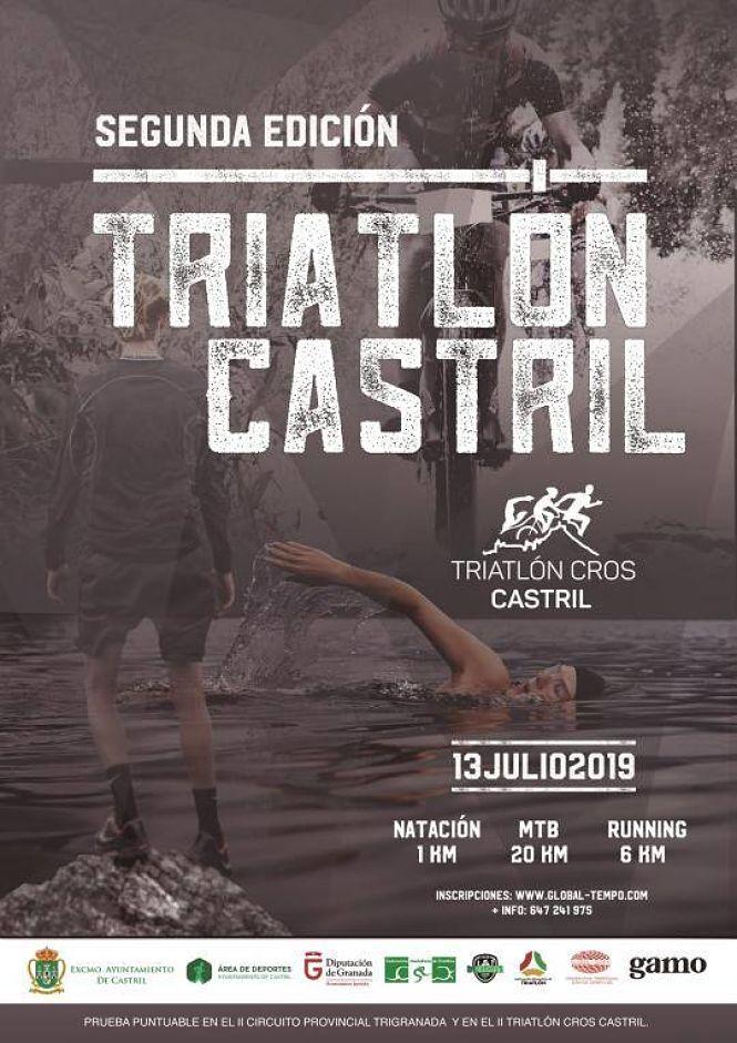300 corredores participarán en el II Triatlón Cross Villa de Castril