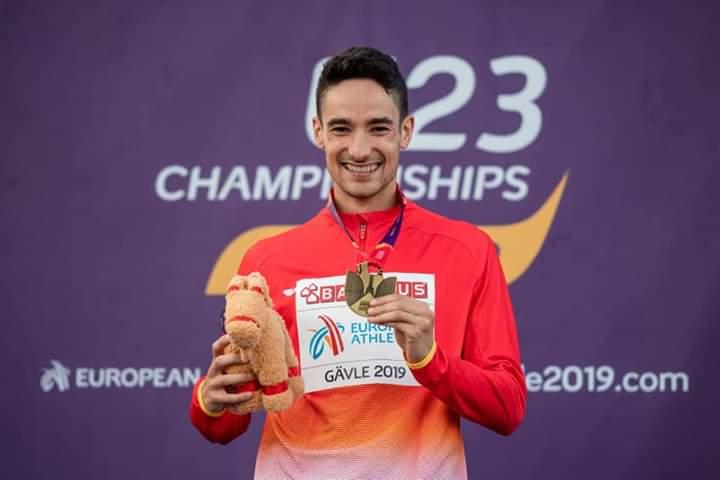 Ignacio Fontes campeón de Europa Sub-23 de 1500 metros