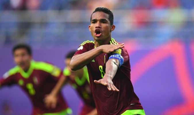Yangel Herrera, cerca del Granada CF