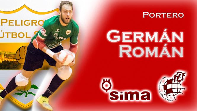 Germán Román renueva con el Sima Peligros