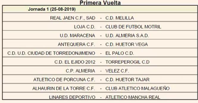 Loja-Motril, plato fuerte para abrír la temporada en Tercera División