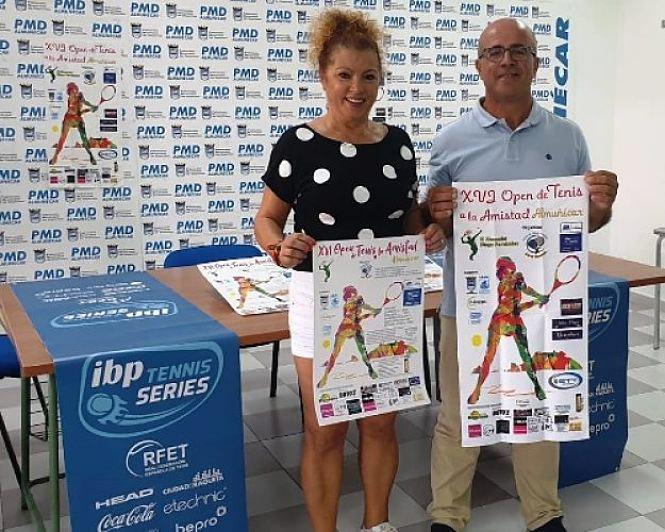 """El XVI Torneo de Tenis """"A la Amistad"""" de Almuñécar - XI Memorial Diego Fernández se celebrará del 17  al 22 agosto"""