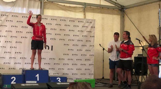 Victoria Padial consigue el oro y se proclama campeona de Andalucía de Rollerskis