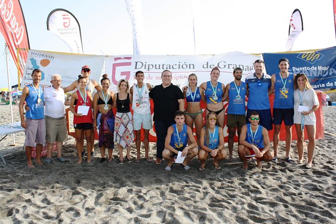 Salobreña pone el broche final al XXV Circuito de Voley Playa Costra Tropical