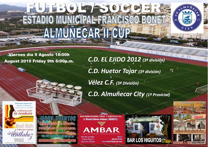 """Este viernes se celebra en el Francisco Bonet el II Trofeo """"Almuñécar Cup"""""""