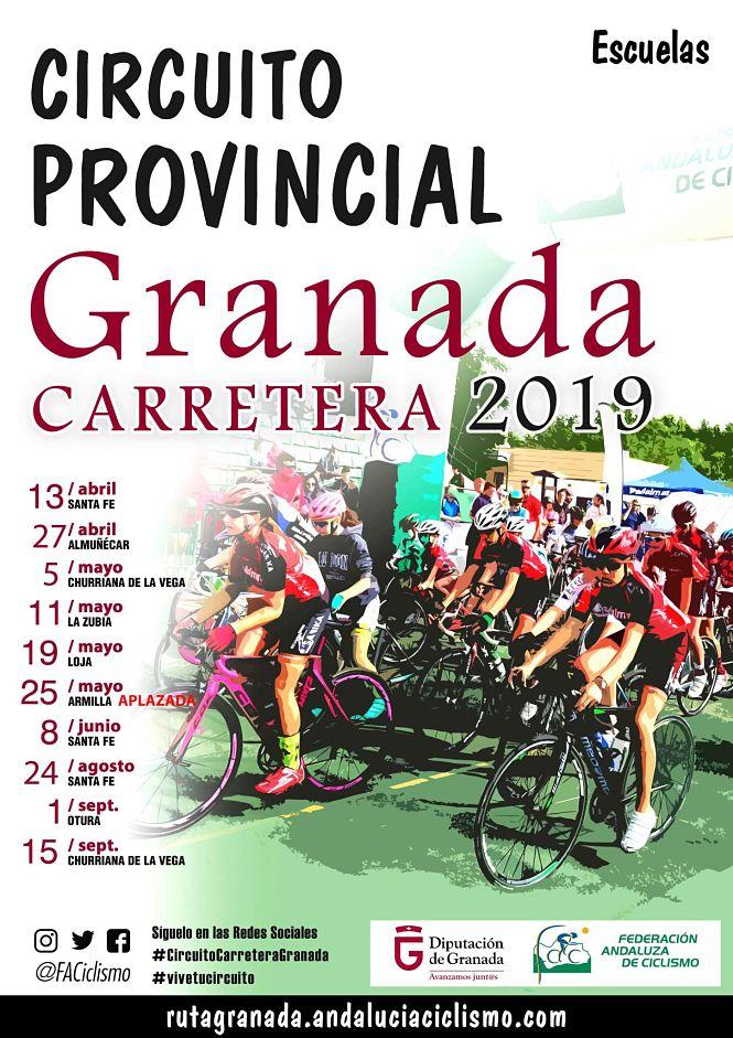 Nuevo encuentro santaferino dentro del Provincial de Granada de Carretera para escuelas y cadetes