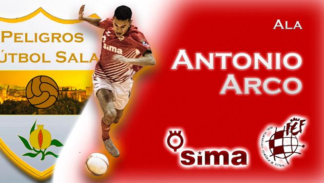 El Sima Peligros renueva a Antonio Arco