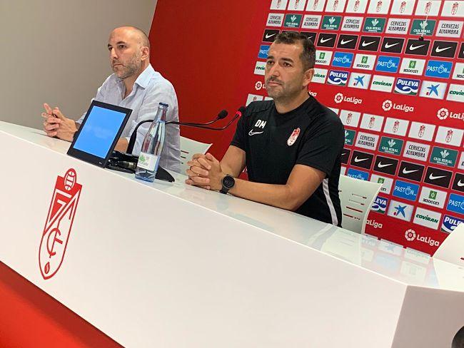 """Diego Martínez: """"Lo más importante es la ilusión del equipo"""""""