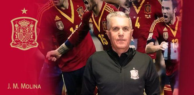 José Manuel Molina Maza, nuevo jefe de expedición de la selección Sub-21