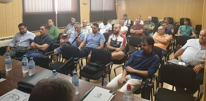 La comisión deportiva se reúne en Armilla con los clubes del grupo II de División de Honor