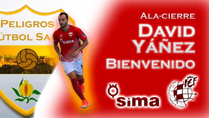David Yañez, nuevo fichaje del Sima Peligros