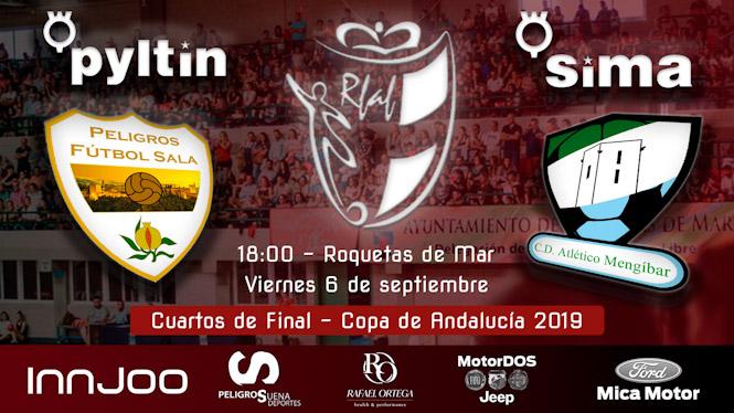 El Sima Peligros disputará la Copa de Andalucia ante Atlético Mengíbar