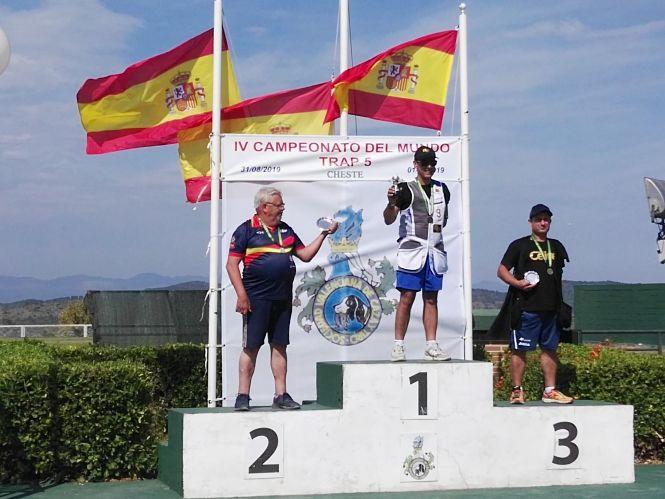El tirador Melitón Briñas se proclama Campeón del Mundo Trap 5 en Valencia