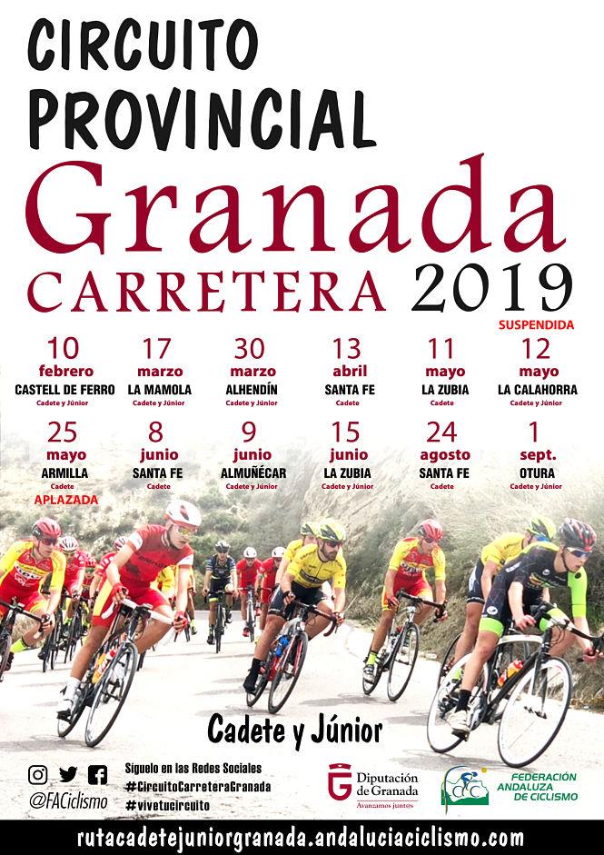 Armilla acoge el Circuito provincial de Granada carretera 2019