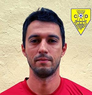 Fran Roldán, entrenador del Huétor Tájar B