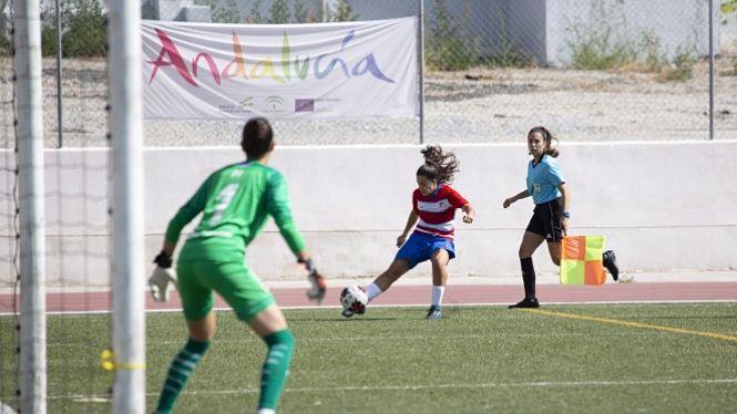 Victoria del Granada Femenino en su estreno en casa, 1-0
