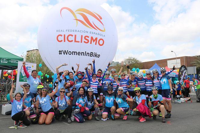 Granada, preparada para acoger una multitudinaria quedada ciclista femenina 'Women In Bike'