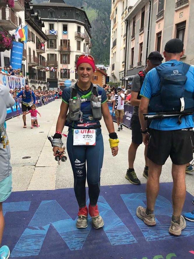 Beatriz Calvo repite experiencia en el Mont Blanc