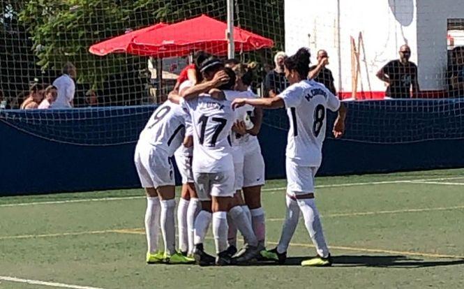 Primera victoria a domicilio del Granada Femenino, 1-4