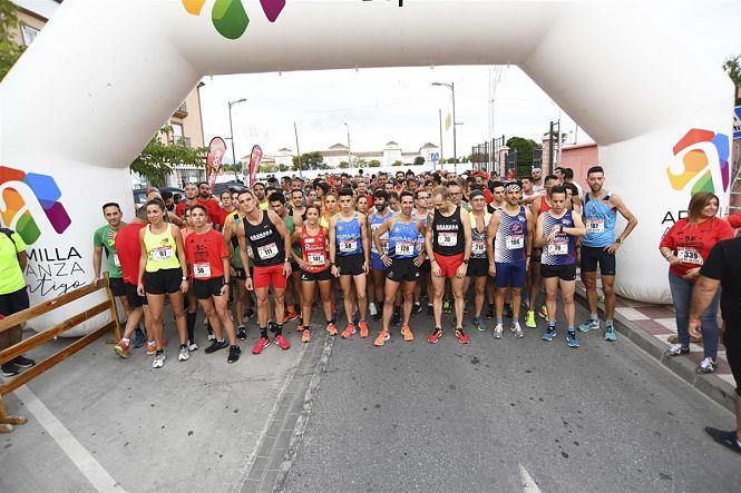 Unos 300 corredores corrieron contra la esclerosis múltiple en Armilla