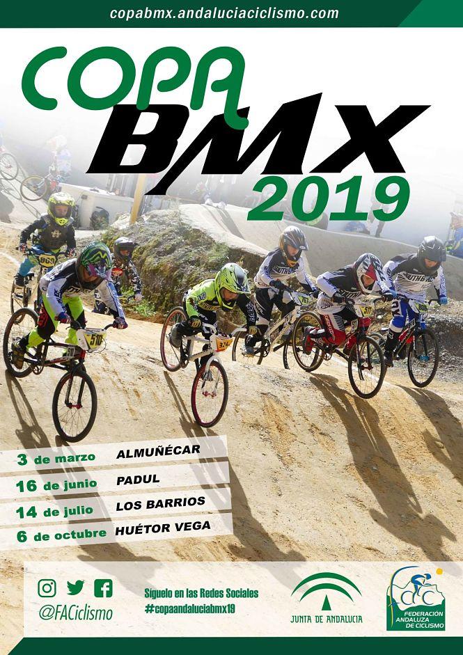 Huétor Vega decidirá los ganadores de la Copa Andalucia BMX 2019