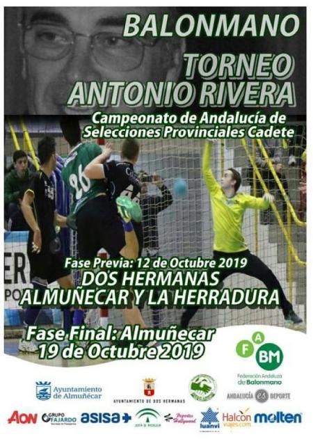 Cartel del Trofeo Antonio Rivera