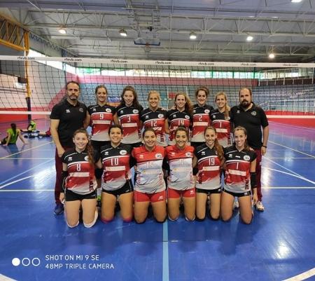 El Nevadis Albolote venció a Voley Murcia (ACV´16)