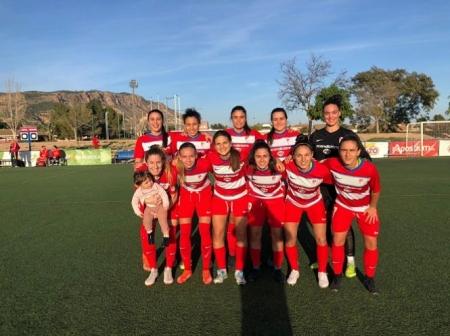 Once inicial del Granada Femenino ante Alhama (GRANADA CF)