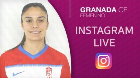 Marta Carrasco respondió a las preguntas en Instagram (GRANADA CF)