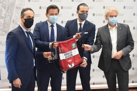 Presentación de la campaña de abonados del Covirán Granada (FCB GRANADA)