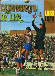 Portada del álbum de cromos de la temporada 1969/70, con el Granada y el antiguo `Los Cármenes´ como protagonistas principales (TODOCOLECCIÓN)