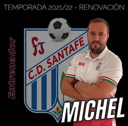 Michel seguirá dirigiendo al CD Santa Fe